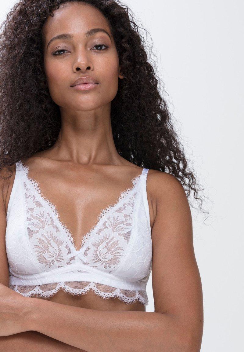 mey - Triangle bra - weiss
