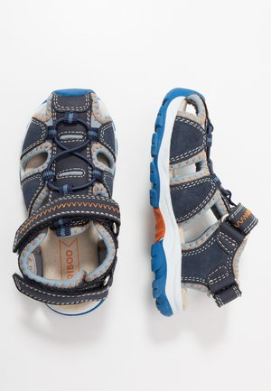 Walking sandals - dark blue
