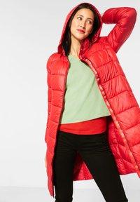 Street One - Winter coat - rot - 0