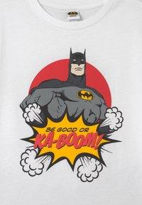 OVS - BATMAN SET - Tracksuit bottoms - brilliant white - 3