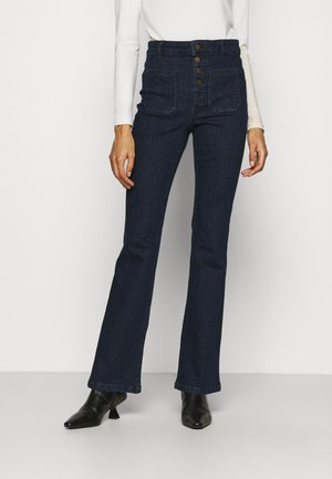 GANA - Flared Jeans - dark blue