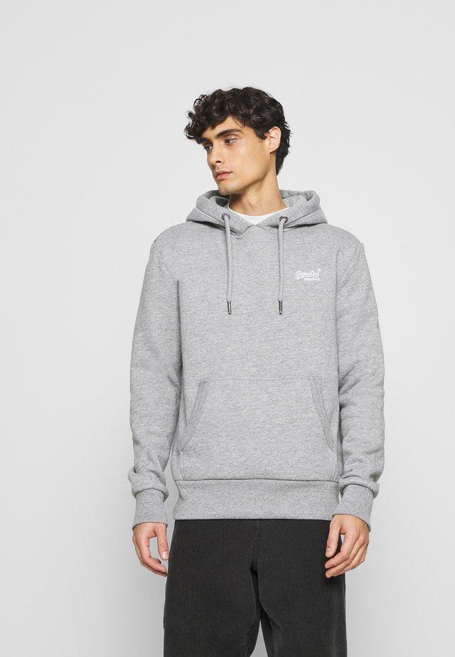 Hoodie - soft grey