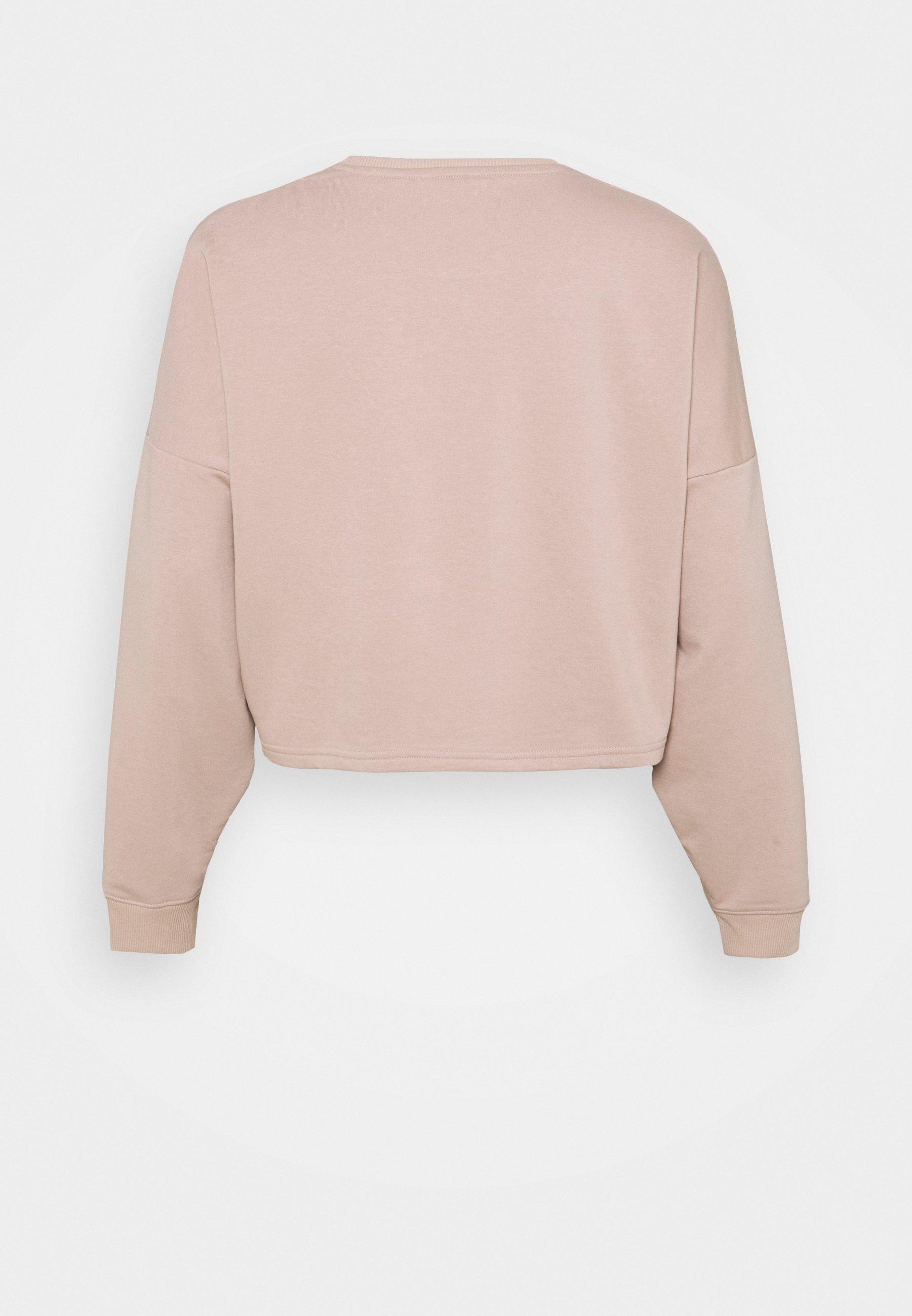 Women DUNE CROP CREW CURVE - Sweatshirt