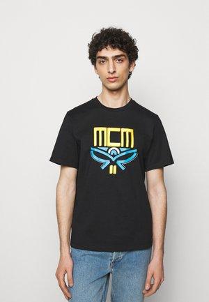 COLLECTION SHORT SLEEVES TEE - T-shirt imprimé - black