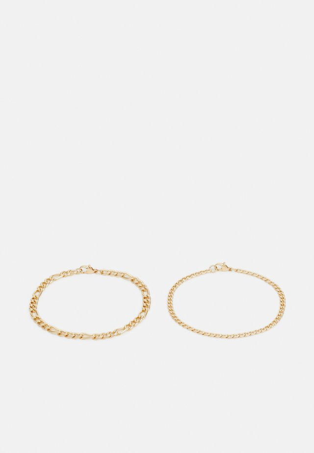 FIGARO CHAIN BRACELET 2 PACK - Náramek - gold-coloured