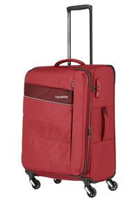 Travelite - KITE M - Wheeled suitcase - red - 2