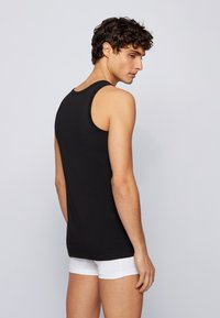 BOSS - SLIM FIT - Undershirt - black - 5