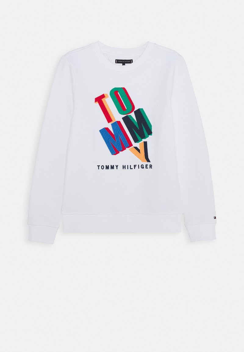 Tommy Hilfiger - FUN ARTWORK - Sweatshirt - white