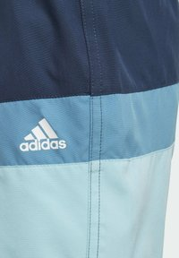 adidas Performance - COLORBLOCK SWIM SHORTS - Swimming shorts - blue - 4