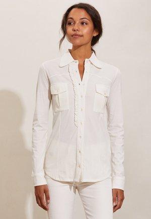 VERONICA - Button-down blouse - light chalk