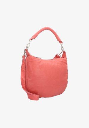 KINKY CLEMMY HANDTASCHE LEDER 34 CM - Handbag - shrimp