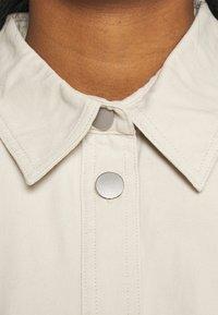 Monki - Shirt dress - beige dusty light - 3