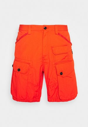 JUNGLE CARGO - Shorts - vintage ripstop - bright acid