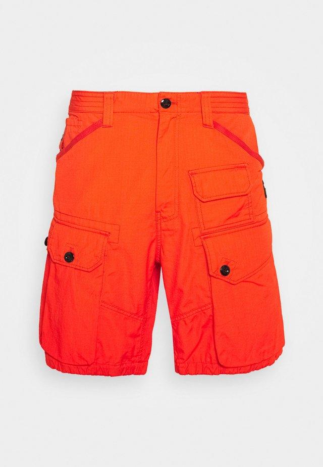 JUNGLE CARGO - Shorts - vintage ripstop - bright acid
