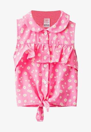 POPELINE  - Blouse - pink printed