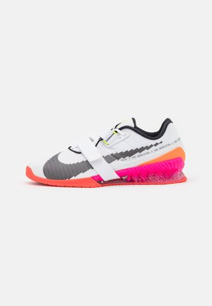 ROMALEOS 4 SE - Gym- & träningskor - white/black/bright crimson/pink blast/total orange/volt