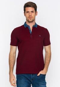 Basics and More - Polo shirt - bordeaux - 0
