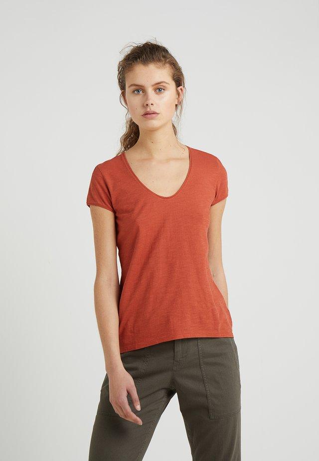 AVIVI - T-shirt basic - rost