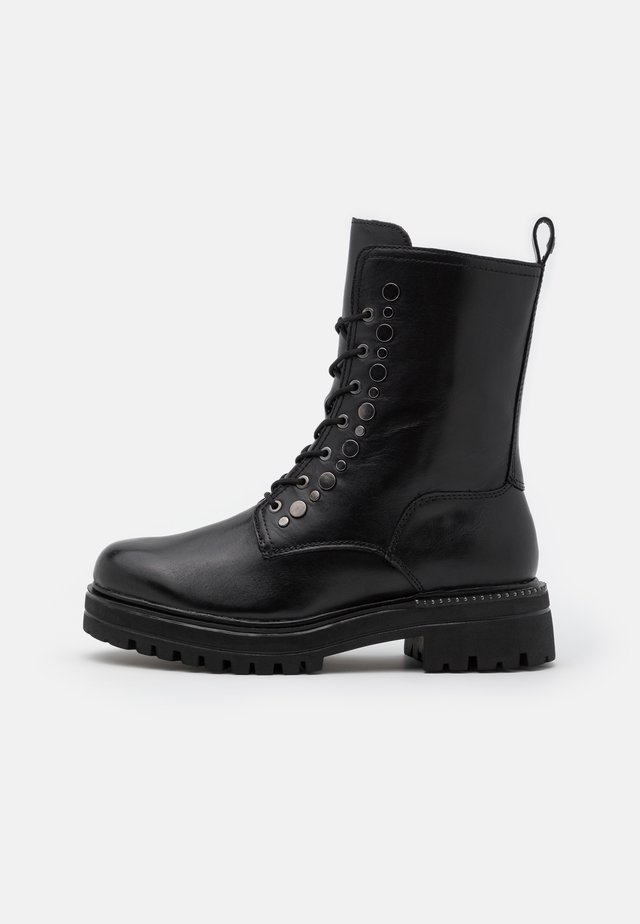 BOOTS  - Platform-nilkkurit - black