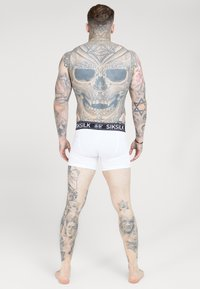 SIKSILK - BOXER SHORT 2 PACK - Culotte - black/white - 3