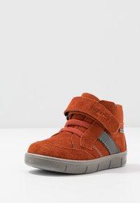 Superfit - ULLI - Classic ankle boots - rot/hellgrau - 2