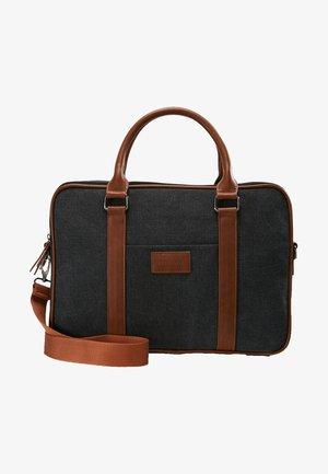 Briefcase - black/brown