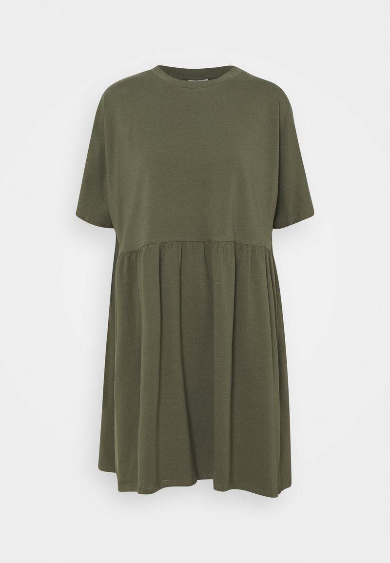 Noisy May - NMKERRY SHORT DRESS - Jerseykjoler - kalamata