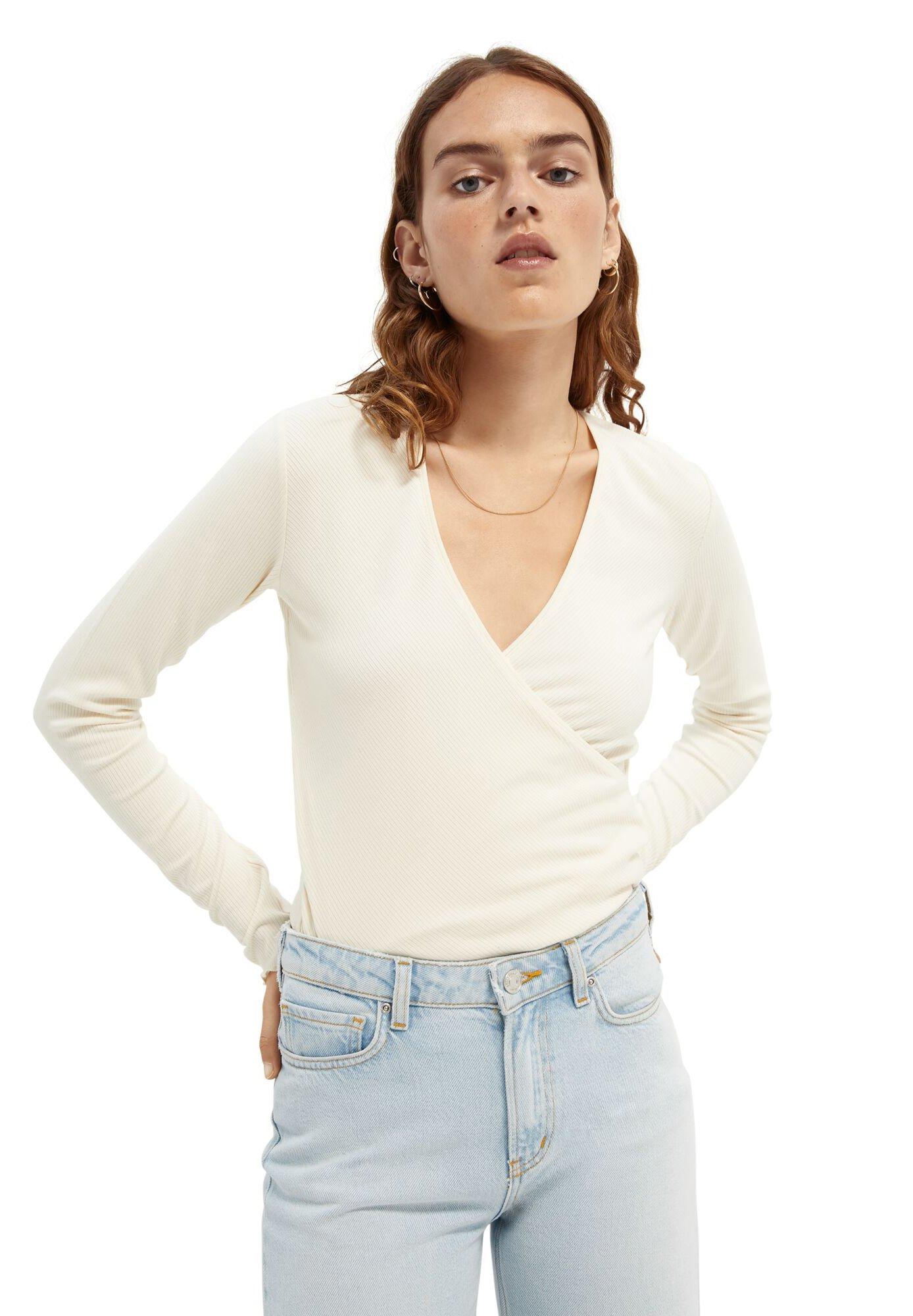 Women WRAPOVER - Long sleeved top