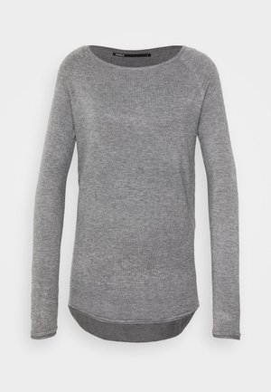 ONLMILA LACY LONG  - Jumper - medium grey melange