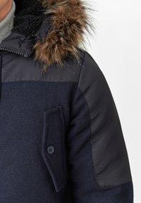 INDICODE JEANS - Winter coat - navy mix - 6