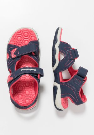 ADVENTURE SEEKER 2 STRAP - Sandales de randonnée - navy/pink