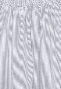 esmé studios - VIVIAN MIDI SKIRT - A-line skirt - blue/white - 2