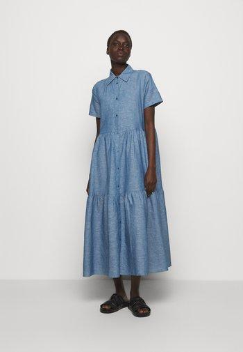 ENNISH - Shirt dress - medium blue