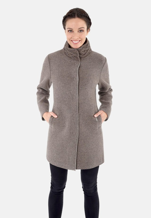 MARION - Halflange jas - light brown