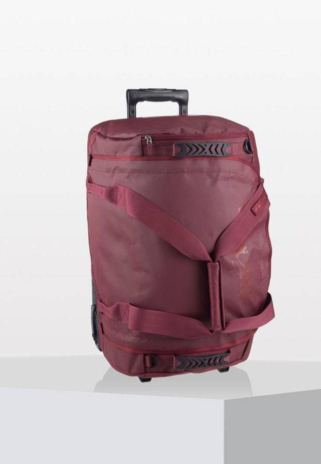 Luggage - bordeaux red