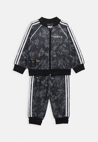 adidas Originals - GOOFY DISNEY SET - Verryttelytakki - black/white - 0