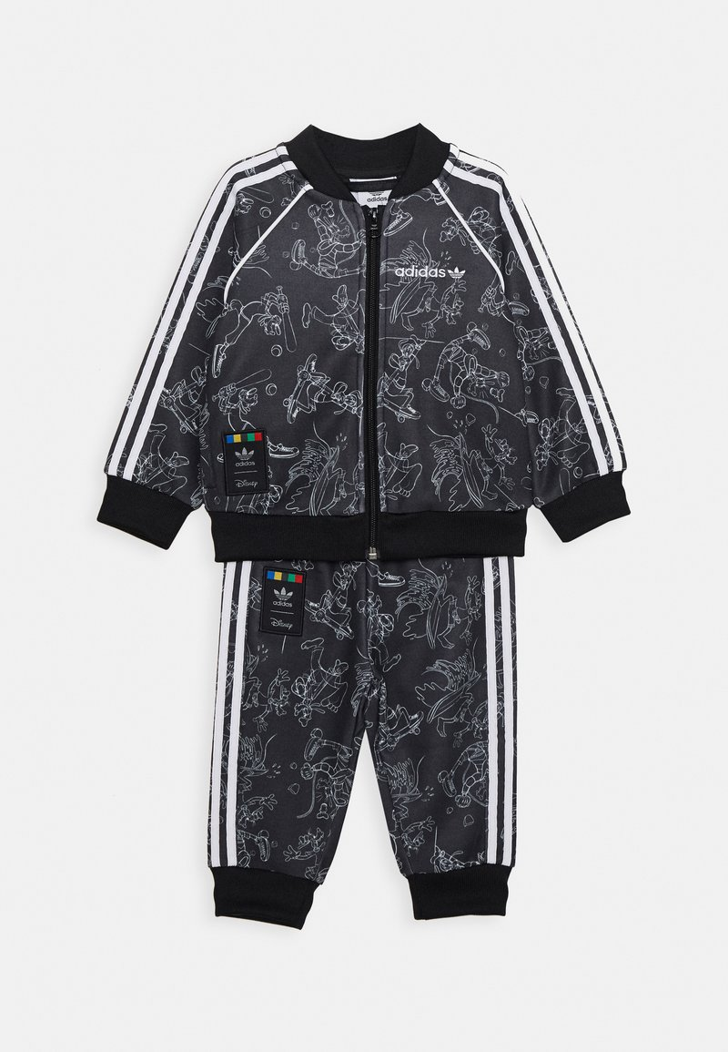 adidas Originals - GOOFY DISNEY SET - Verryttelytakki - black/white