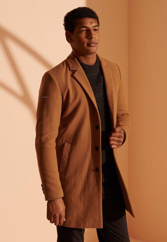 FOUNDATION WOOL - Classic coat - camel
