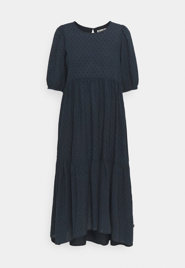 JULI DRESS - Trikoomekko - dusty navy