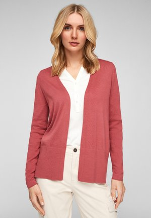 Cardigan - pale red