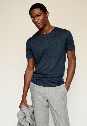 T-shirt basique - bleu marine foncé