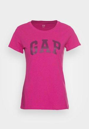 TEE - T-shirts med print - hot magenta