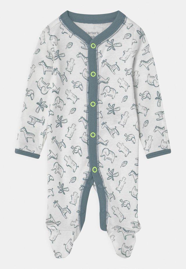 Pyjama - white/blue