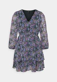 YAS Petite - YASESMERALDA MINI DRESS - Day dress - black - 0