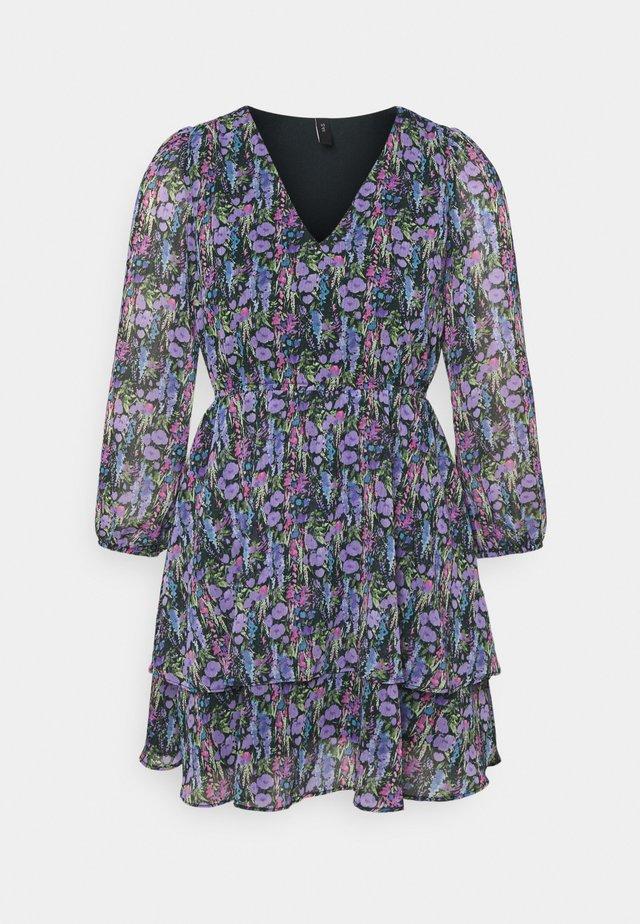 YASESMERALDA MINI DRESS - Day dress - black