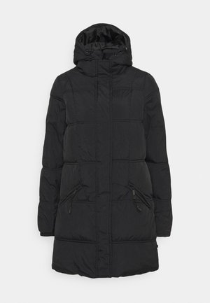THE MOTHER MID LENGTH PUFFER - Vinterkåpe / -frakk - black