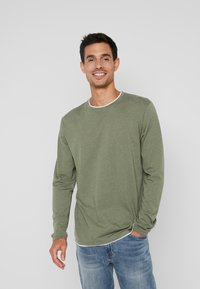 Esprit - Long sleeved top - khaki green - 0