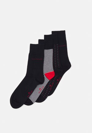 SOCKS 4 PACK - Strumpor - dark blue