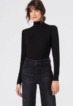 MIT PUFF - Long sleeved top - schwarz