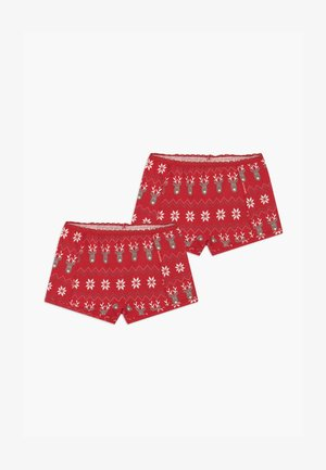 GIRLS 2 PACK - Boxerky - red